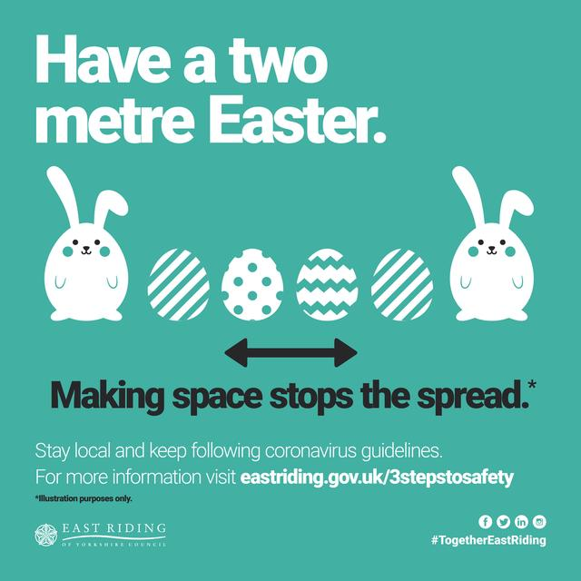 Have a two meter Easter